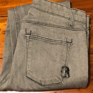 Rich & Skinny grey/silver skinny jeans